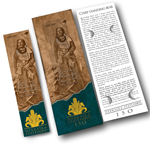 7-Inch Leather Bookmark