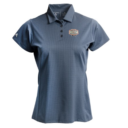 Ladies Performance Polo - Light Navy/Navy