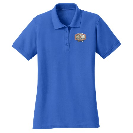 Ladies Core Blend Pique Polo - Royal Blue
